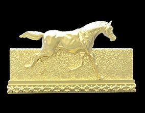3D print model Galloping Horse in reliefs