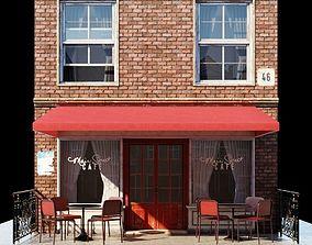 The Street Cafe 3D