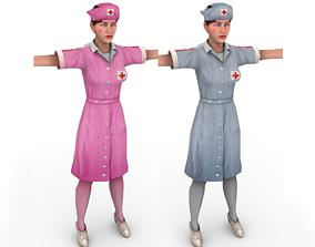 3D model Woman doctor