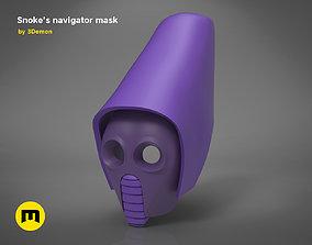 3D printable model Snokes Navigator Mask - Star Wars