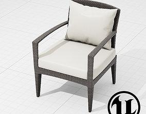 3D asset Dedon Panama Chair 001 UE4