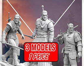 The Witcher wild hunt 3D printable model