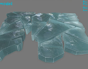 ice set 3D asset realtime