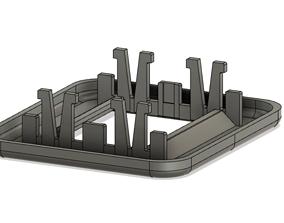Car Peugeot 307 SW Seat Belt Cap 3D print model