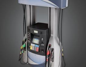 3D asset SAM -Gas Pump - PBR Game Ready