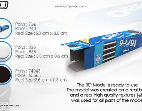 Oreo with Box 3D Models