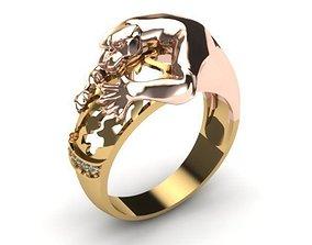 puma ring 3D print model