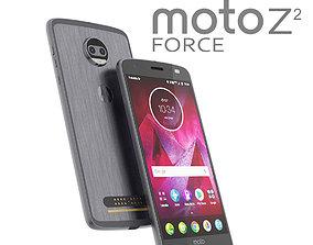 Moto Z2 Force GRAY model 3D