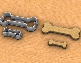 Bone Cookie Cutter 3D printable model
