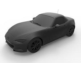 Mazda MX-5 Miata 2016 3D print model