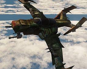 3D asset modified Warhawk