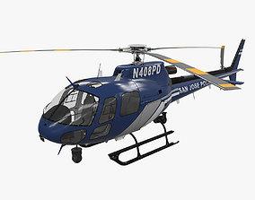 3D asset AS-350 San Jose Police