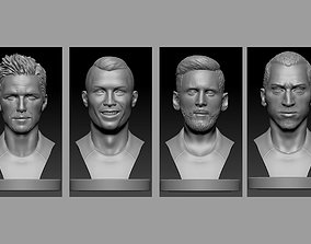 football Players Bust 3D printable model