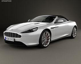 3D Aston Martin DB9 Volante 2013