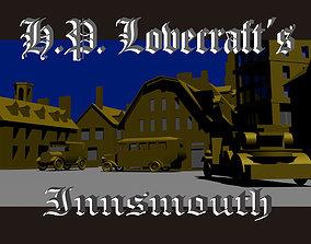 3D asset Lovecraft Innsmout