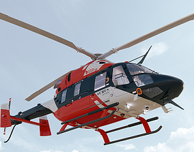 3D model Russian Helicopters Ansat Aurus Kazan Rostec