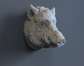 3D print model Boar Head animal