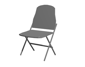 3D model Foldable Chair