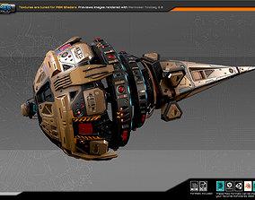 3D model SF DRAKX Freighter DK5