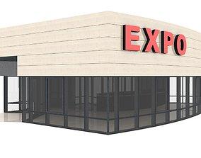 barbeque 3D Trade Pavilion Shop