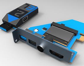 3D model Parallax 2EL