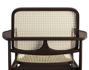 Oscar Lounge Armchair 3D