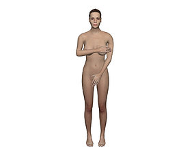 3D asset rigged realtime Angelina