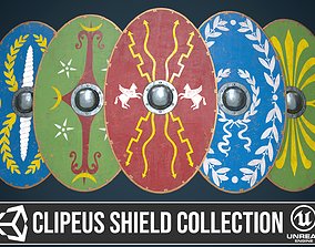 3D Roman shield clipeus collection