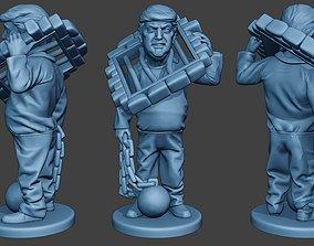 Donald Trump Prison Brake 3D printable model