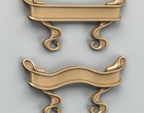 Decorative Ribbon 003 3D