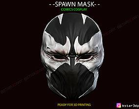 Spawn Comics Mask 3D print model