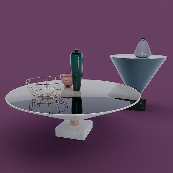 Flute Tables 3D models