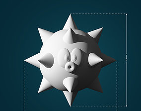 3D printable model Urchin Spike Fish from Mario