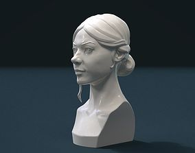 Girl Head I 3D printable model