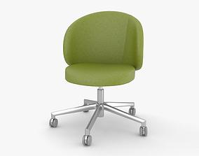 3D model Eurosit Visitors Chair