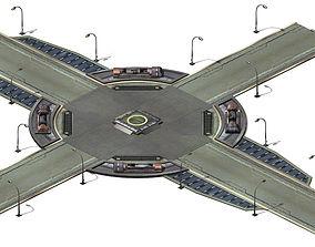 3D Future World - Crossroads 01