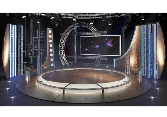 TV Studio Chat Set-23