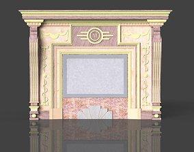 3D Fireplace portal