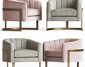 3D Armchair Pure Elegance