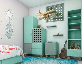 childroom interior 3D model