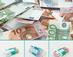 10 Euro banknotes 3D model