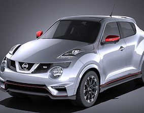 3D Nissan Juke Nismo RS 2017 VRAY