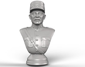 General Henri Guisan 3D printable bust