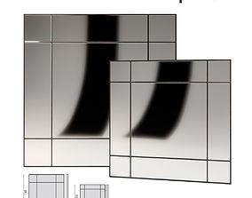 3D Porada Four Seasons Quadro Mirror