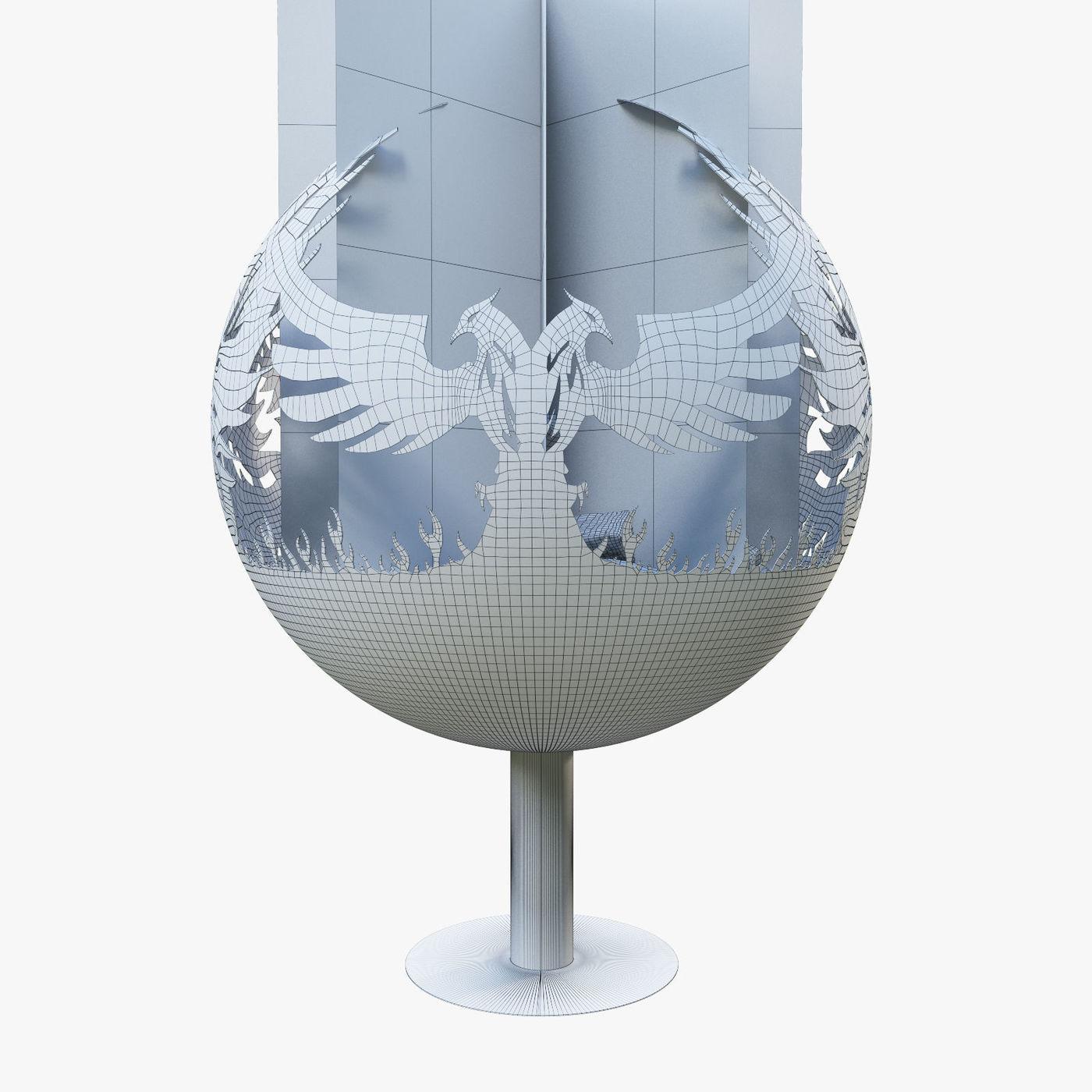 Phoenix fireplace concept