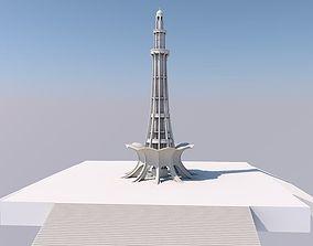 Minar-e-Pakistan Lahore 3D model