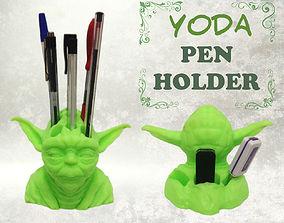 Yoda Pen Holder 3D print model