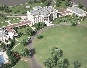 The White House Complex 3D model