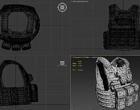 CIRAS Bodyarmor With pouches 3D model