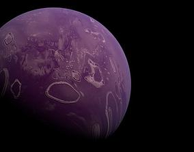3D asset Eve Planet Hi Resolution